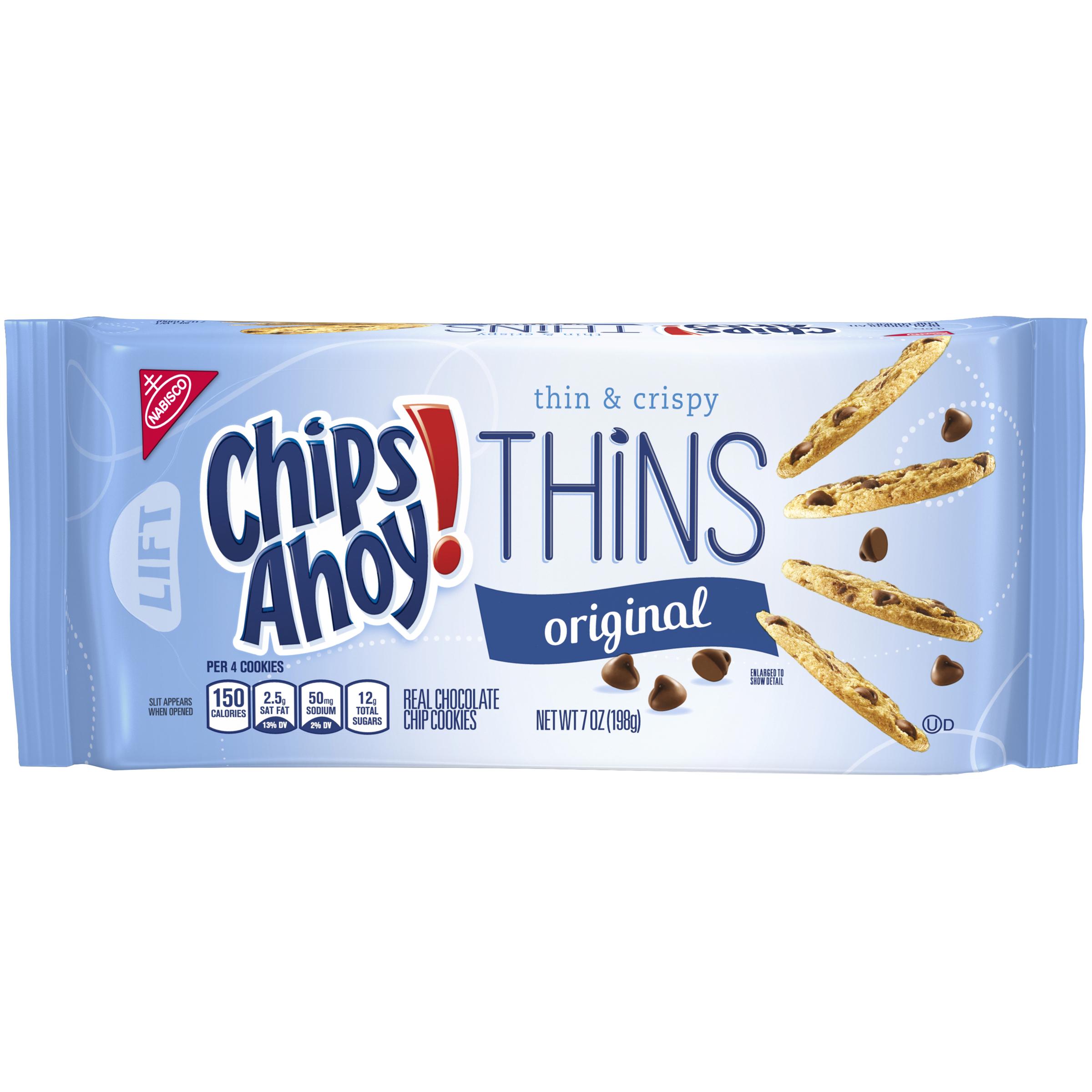 CHIPS AHOY! Thins Original Cookies 7 oz