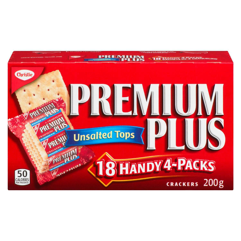 Premium Unsalted Crackers 200 G