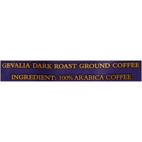 GEVALIA Dark Roast Coffee, 8 oz. Bag (Pack of 20)