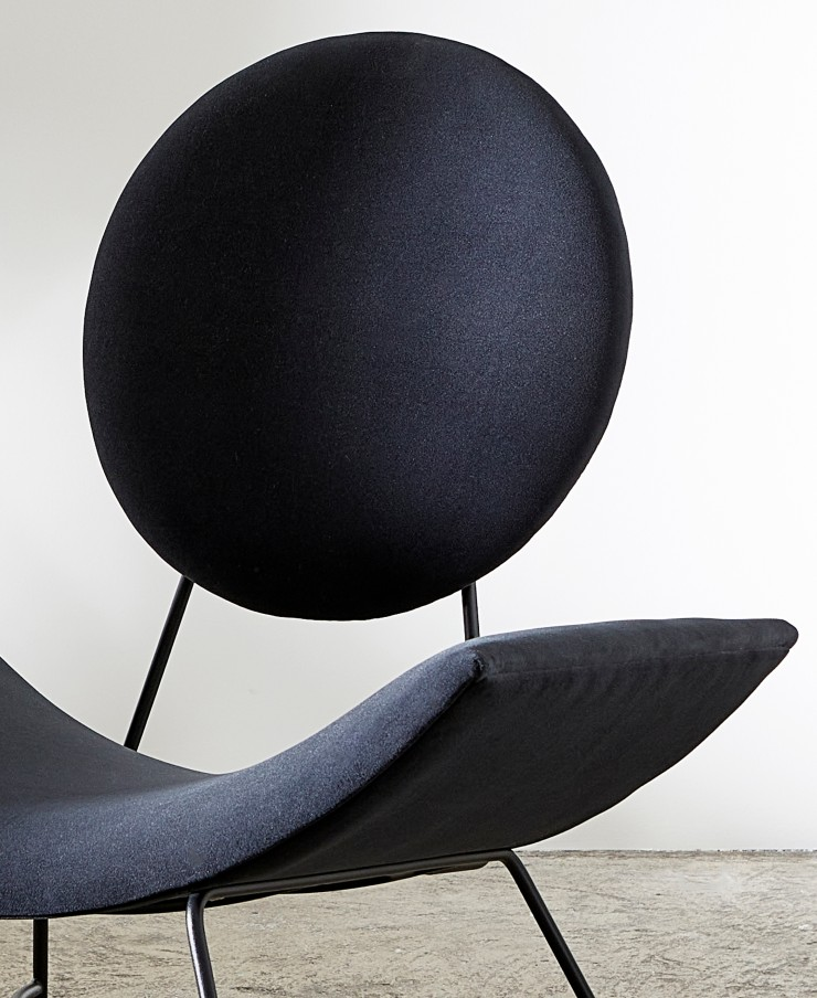 Round Back and Curved Seat