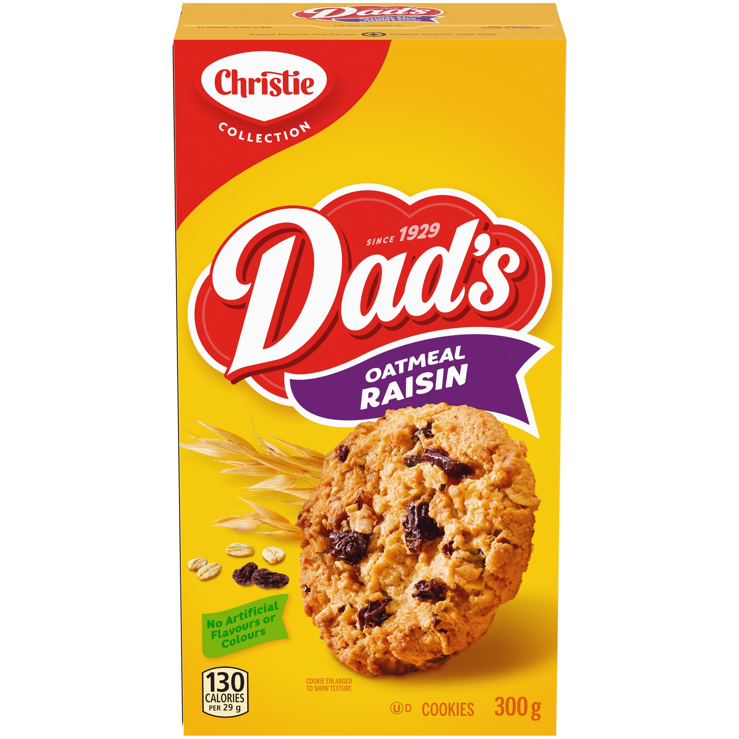 DADS  OATMEAL RAISIN 300 GRM