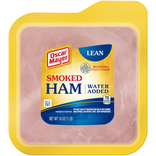 Oscar Mayer Smoked Cooked Ham, 16 oz