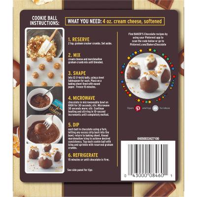 Baker's S'mores No Bake Cookie Balls Dessert Kit, 10 oz Box