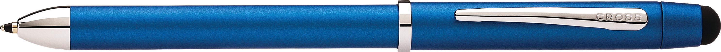 Tech3+ Metallic Blue Multifunction Pen