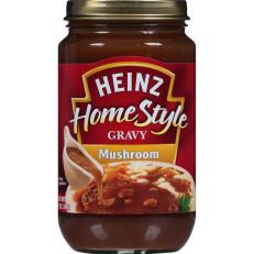 Heinz Home-style Mushroom Gravy, 12 oz Jar image