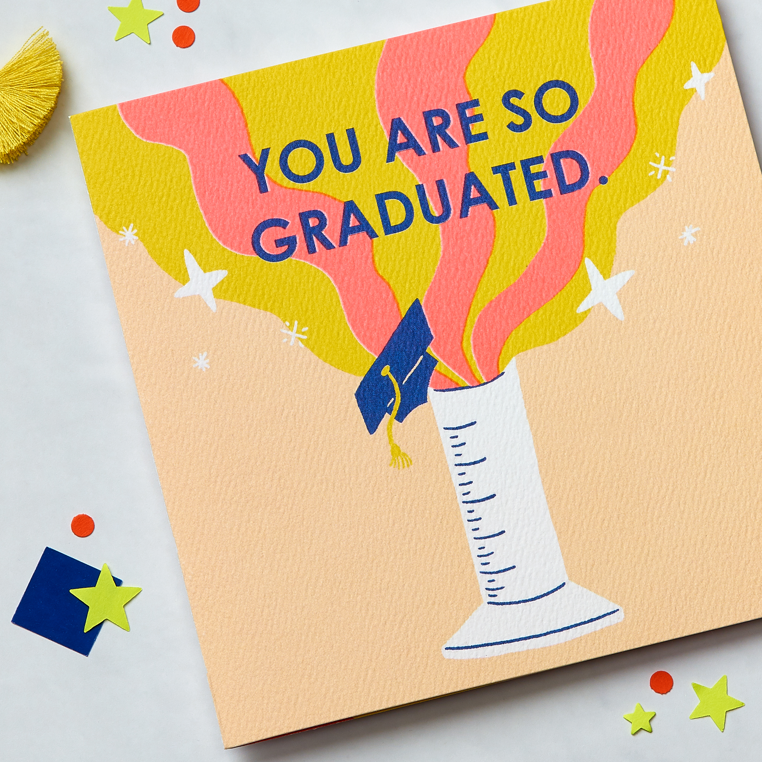 So Graduated Graduation Greeting Card image