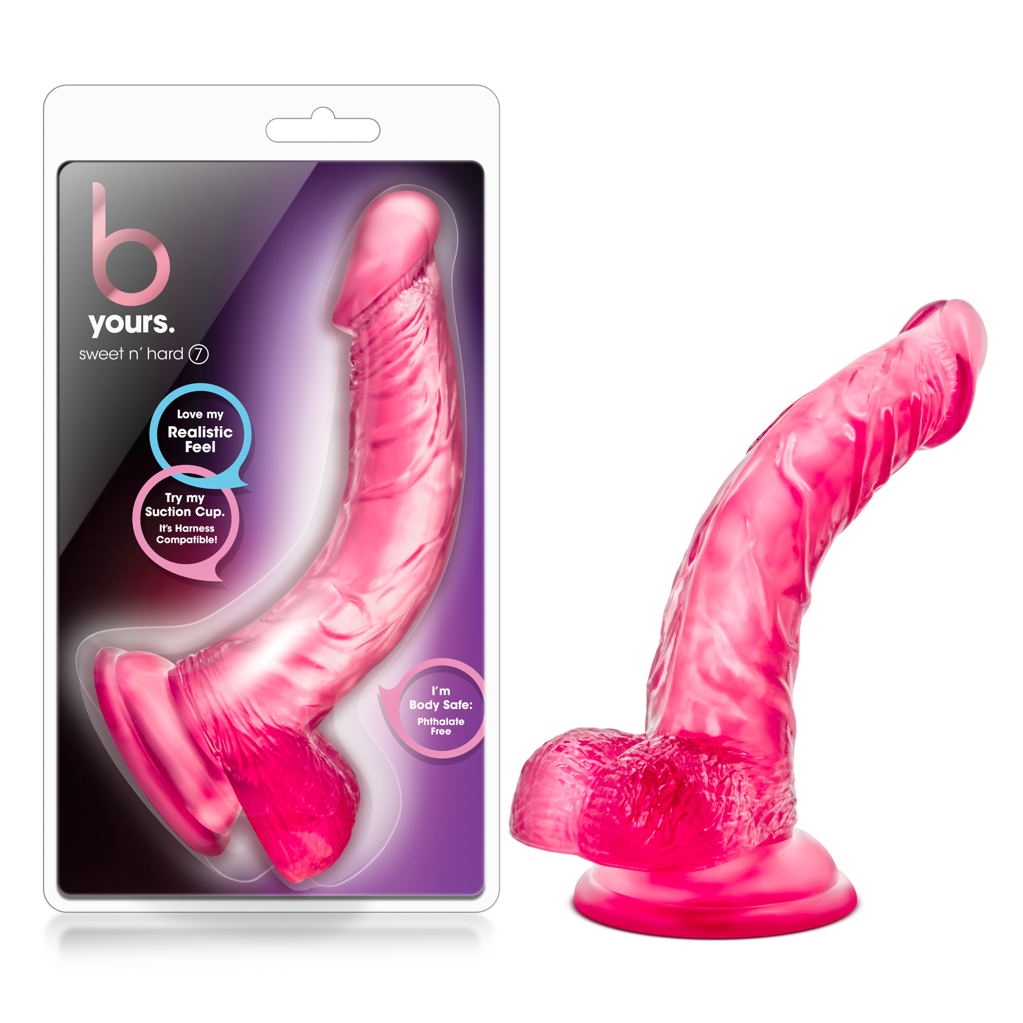 B Yours - Sweet n' Hard 7 - Pink