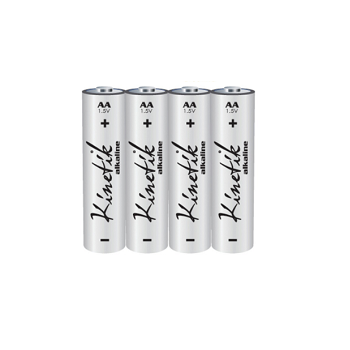 Kinetic AA Alkaline Battery Wave Electronics