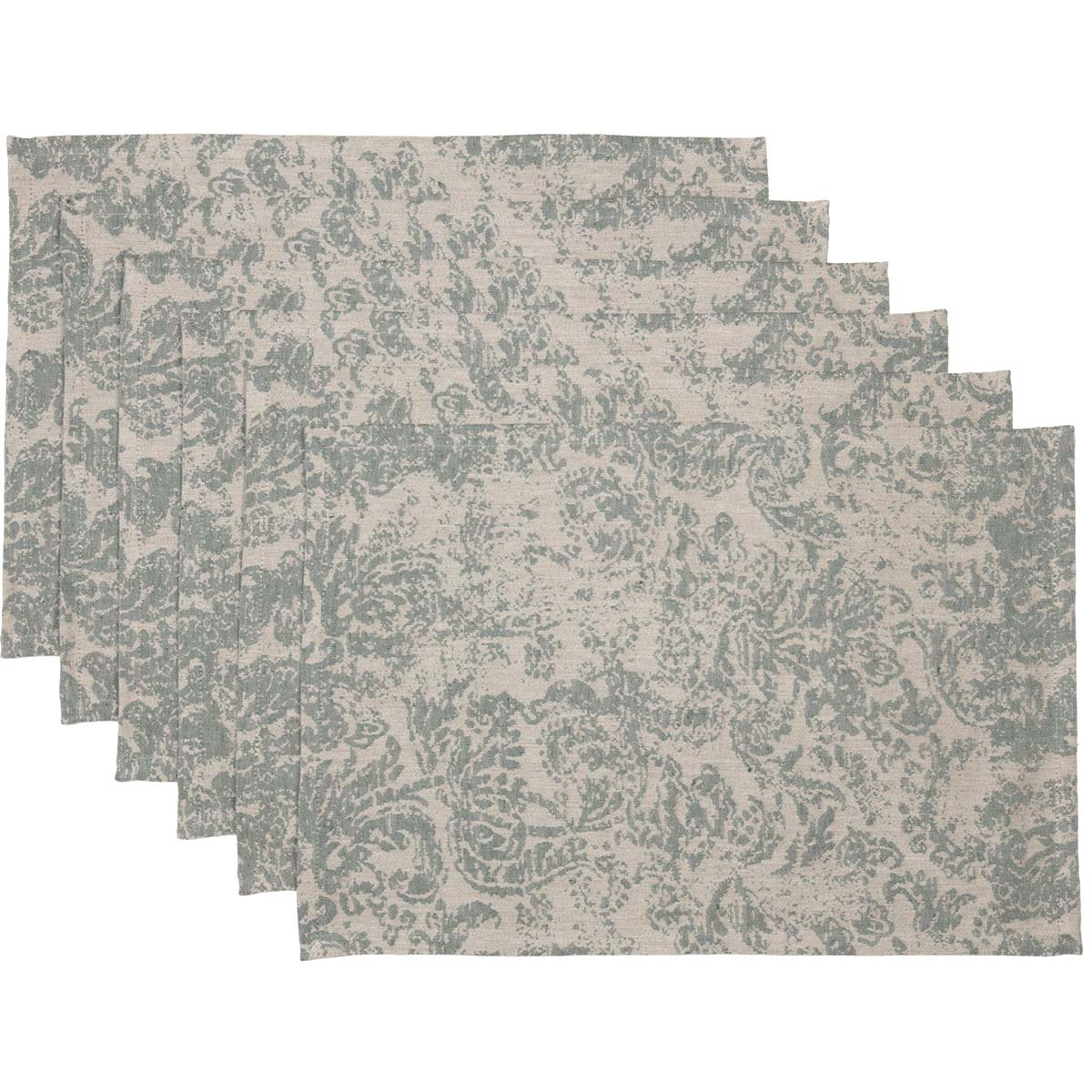 Rebecca Green Placemat Set of 6 12x18