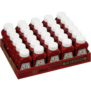 HEINZ Ketchup, 20 oz. FOREVER FULL Inverted Bottles (Pack of 30) image