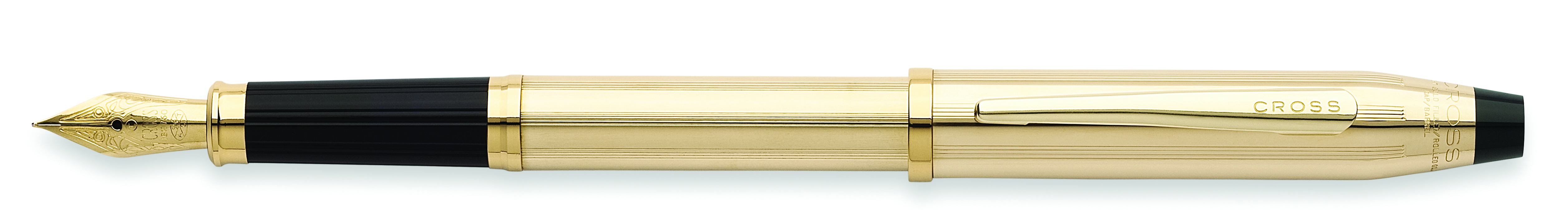 Century II Precious Metals 10KT Gold Filled/Rolled Fountain Pen