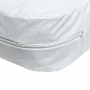 Zippered Vinyl Mattress Cover w/ Tag Insert, 36 x 80 x 6 Inches, 12 Pack
