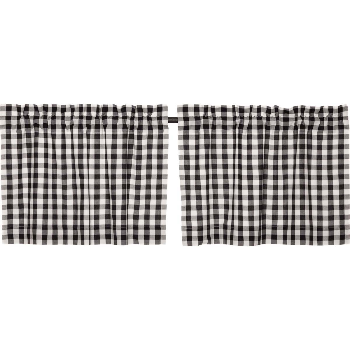 Annie Buffalo Black Check Tier Set of 2 L24xW36