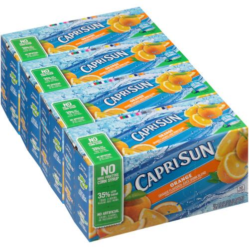 CAPRI SUN Orange Juice Pouch, 6 oz. Pouches (Pack of 40)