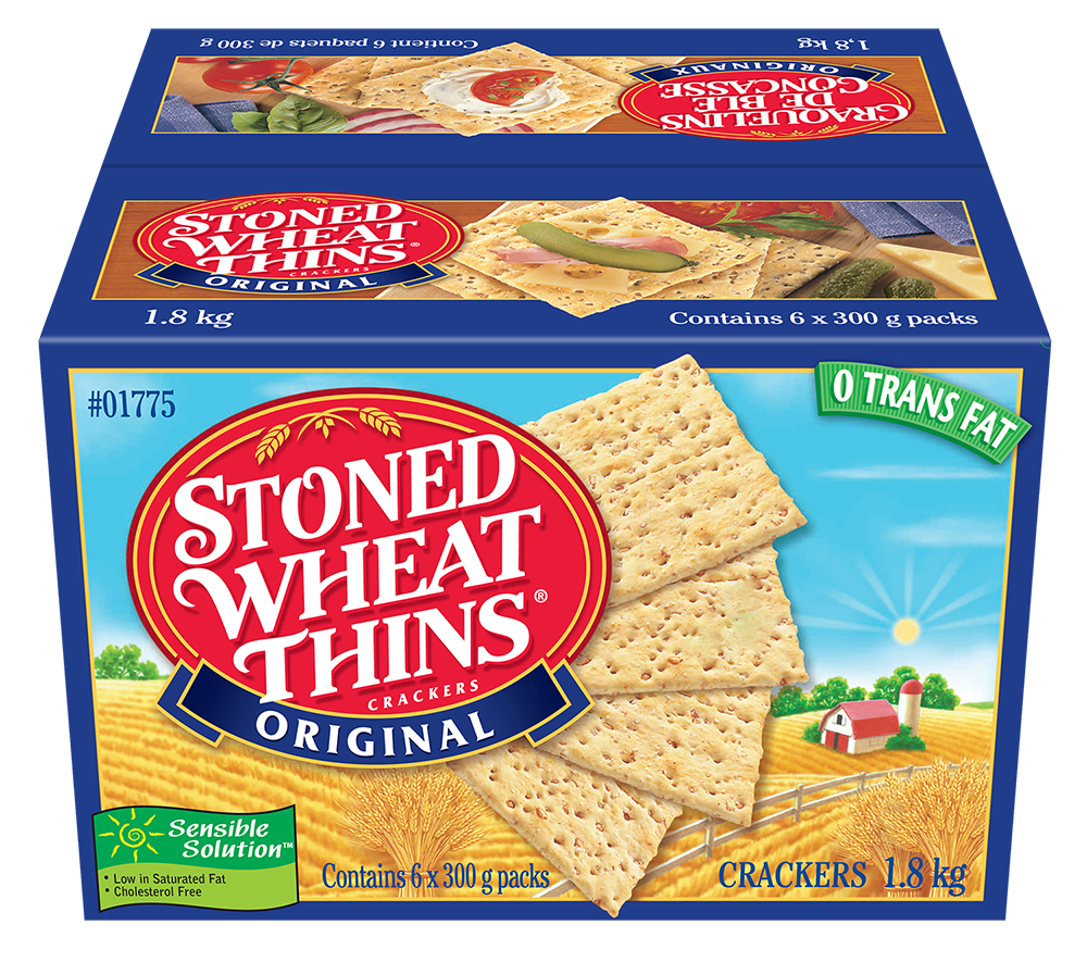 Wheat Thins Club Pack Crackers 1.8 Kgm
