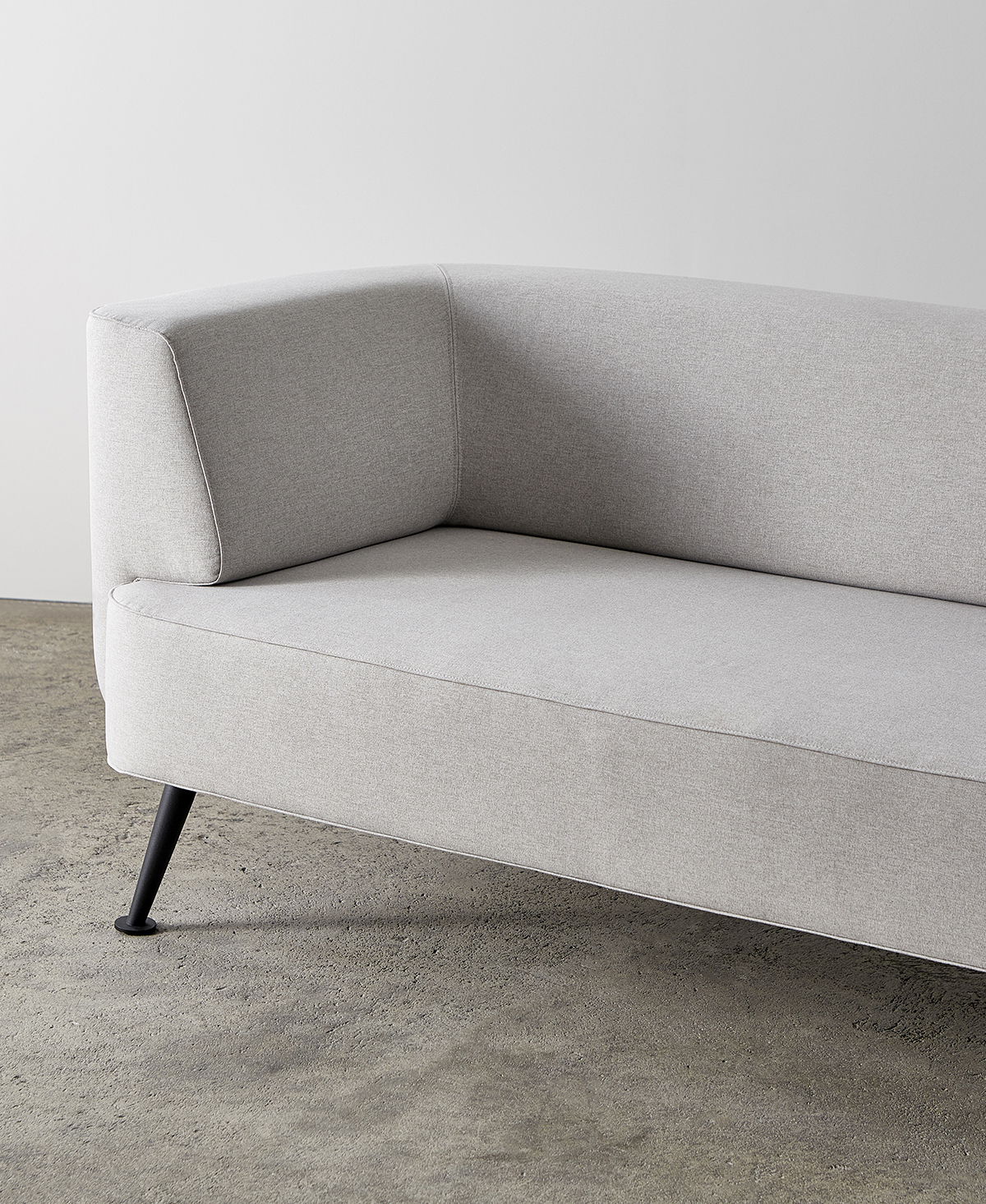 Versatile Stone-Coloured Upholstery