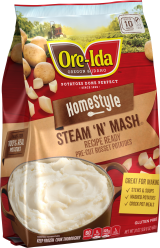 Homestyle STEAM N' MASH Potatoes image
