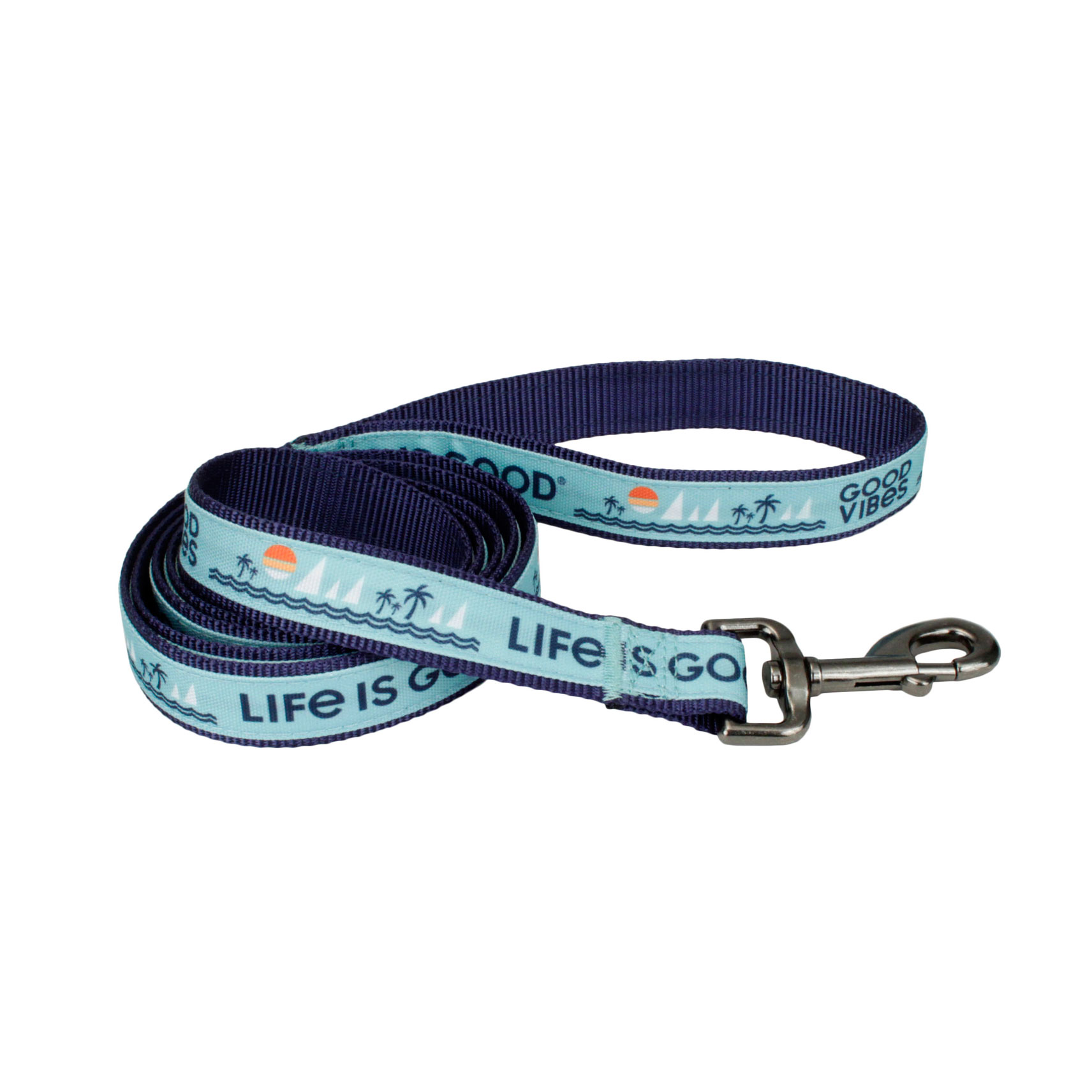Life is Good® Canvas Overlay Dog Leash