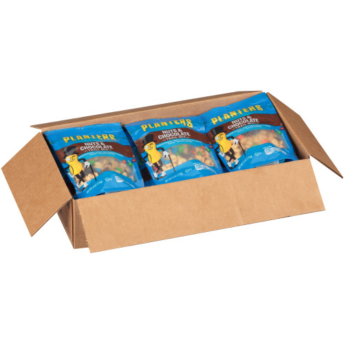 PLANTERS Nut and Chocolate Trail Mix, 6 oz. Bags (Pack of 12)
