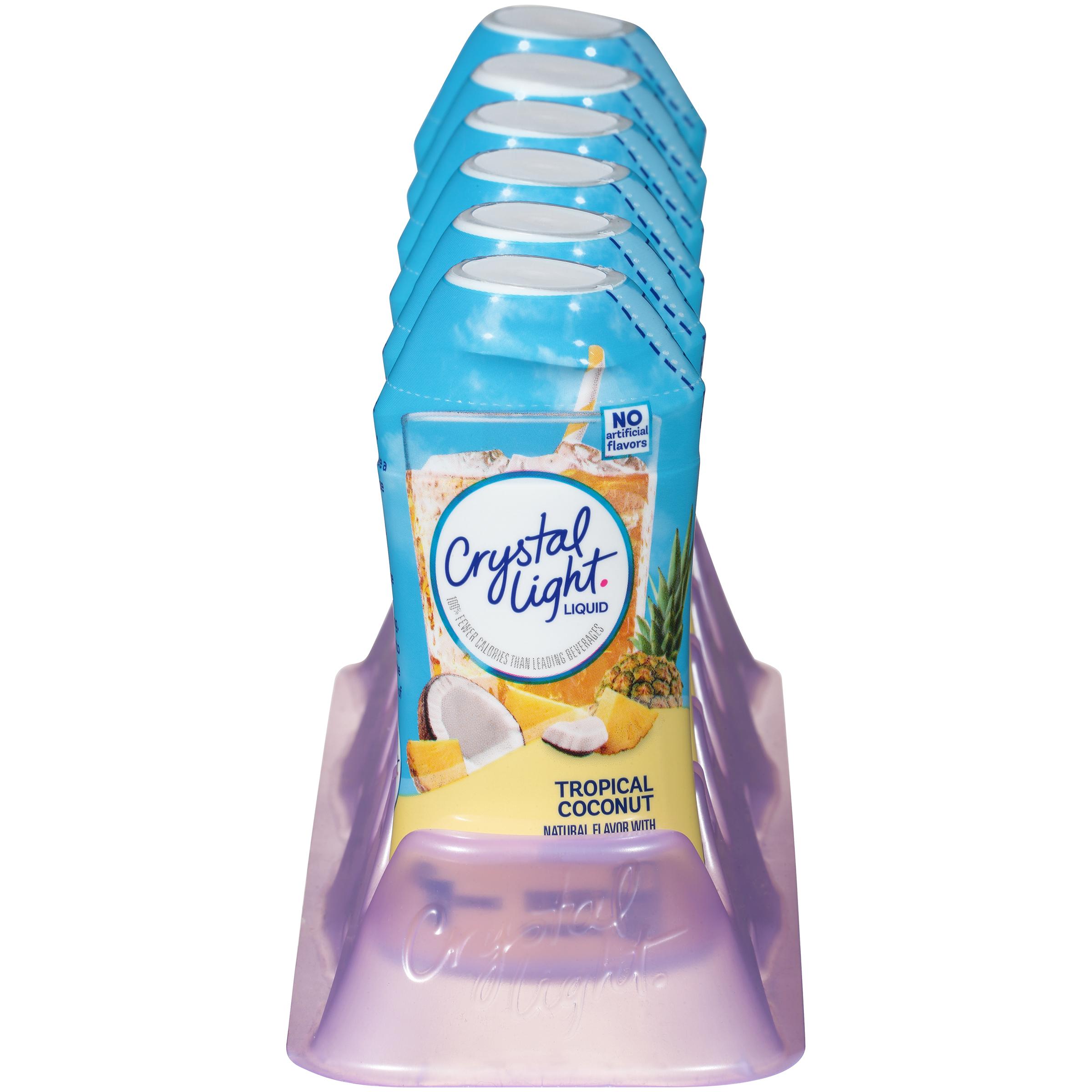 Crystal Light Liquid Tropical Coconut Drink Mix, 1.62 Fl