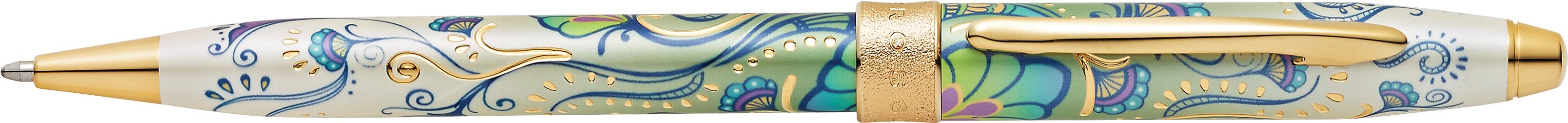 Botanica Green Daylily Ballpoint Pen