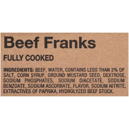 OSCAR MAYER Beef Frank (8:1, 6