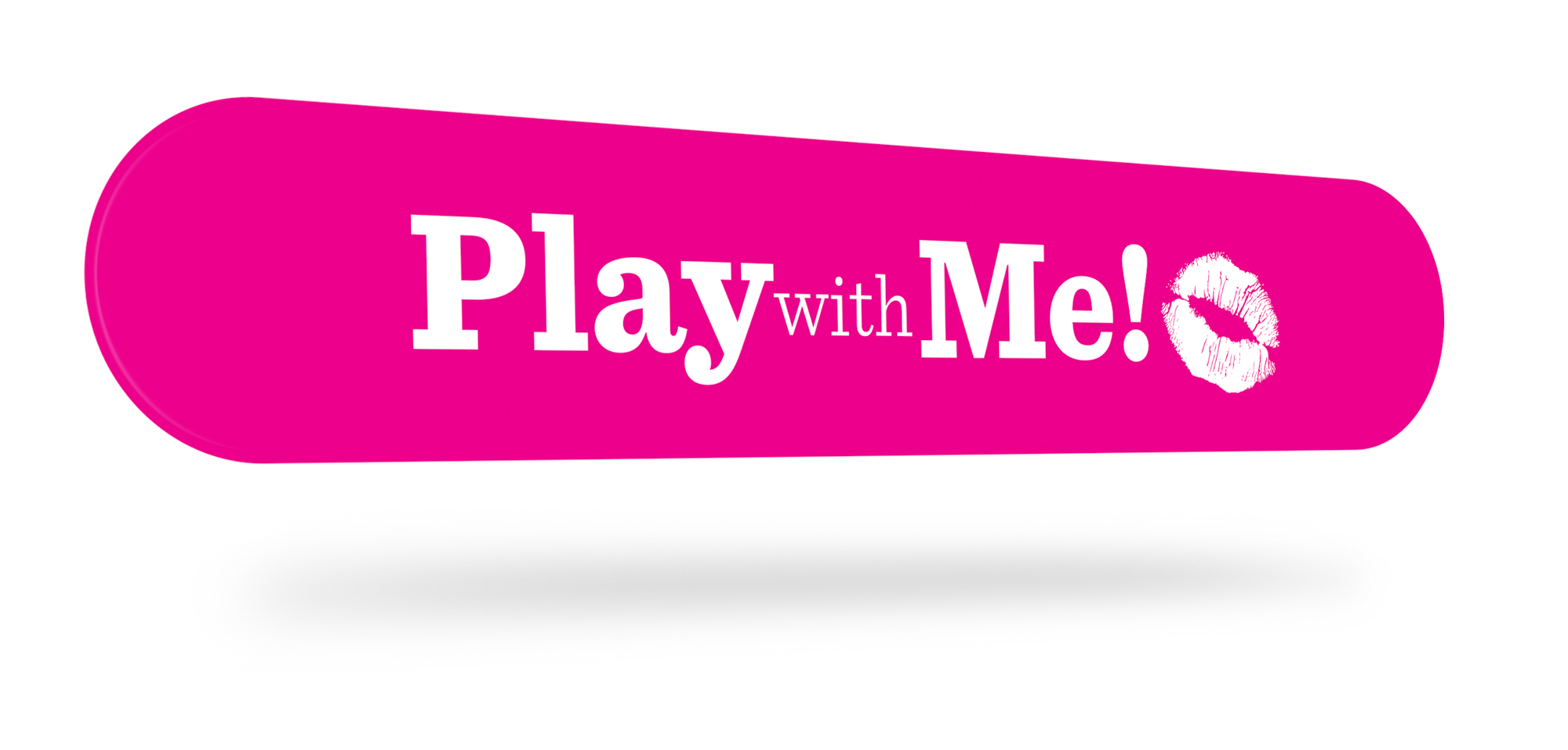 Play with Me - Slatwall Sign