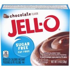 Jell-O Instant Sugar-Free Fat-Free Chocolate Pudding & Pie Filling 1.4 oz Box