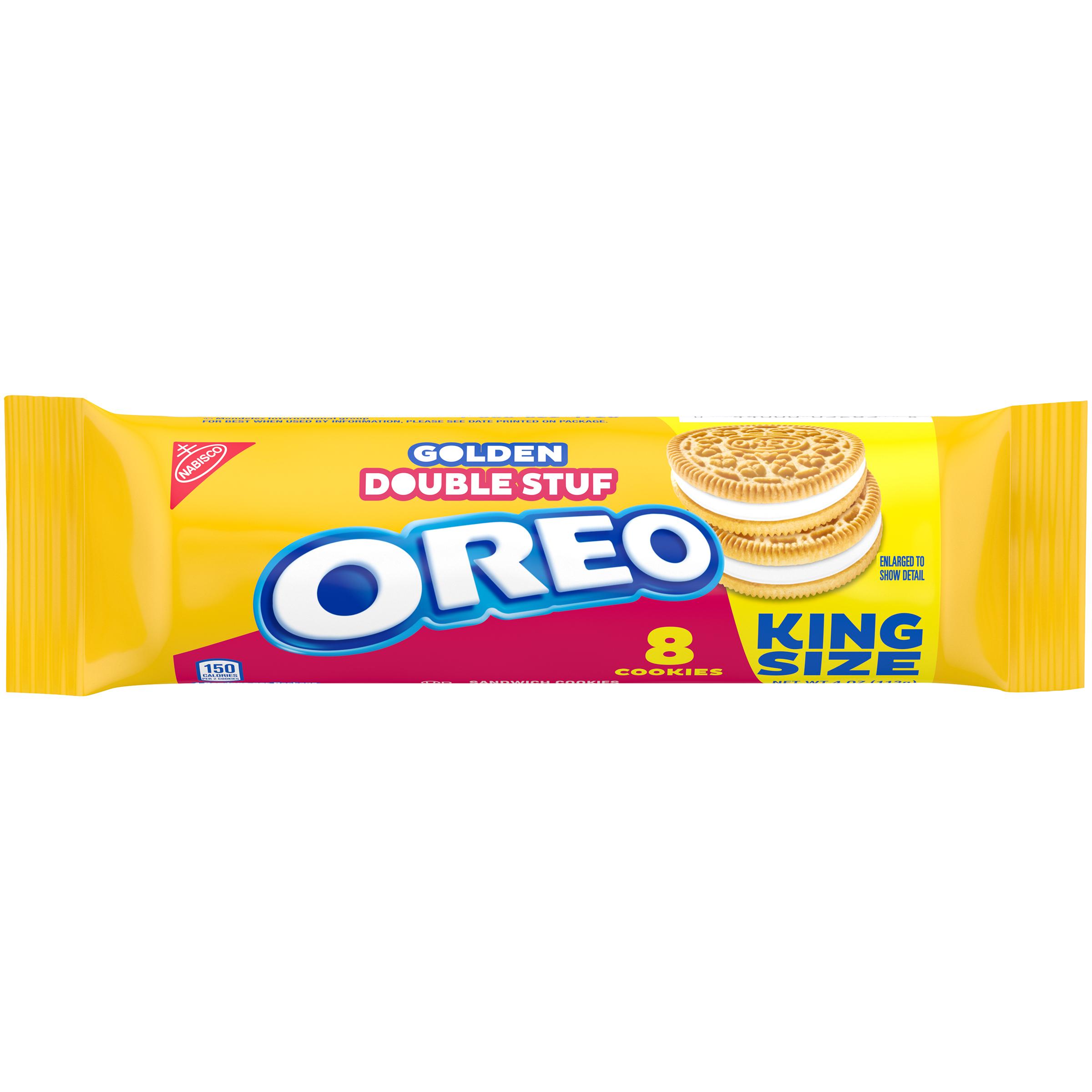 OREO Double Stuf Golden Oreo Cookies 4 oz