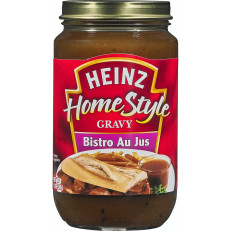Heinz Home-style Bistro Au Jus Gravy, 12 oz Jar image