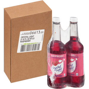 Crystal Light Liquid Concentrate - Raspberry, 32 oz. image