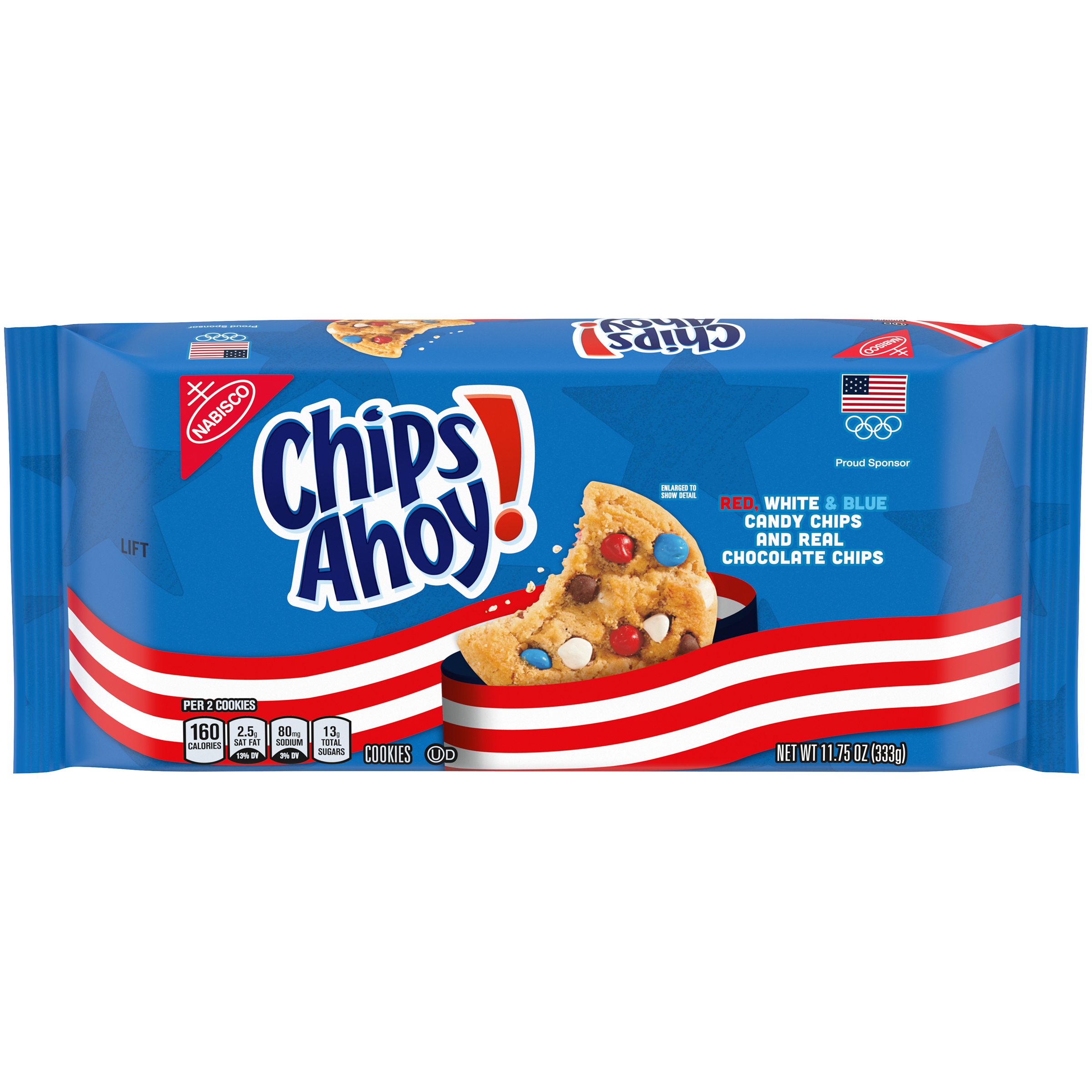 CHIPS AHOY! Team Usa Limited Edition Cookies 11.75 Oz