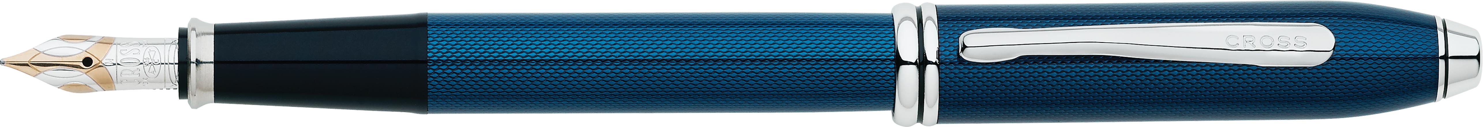 Townsend® Quartz Blue Lacquer Fountain Pen