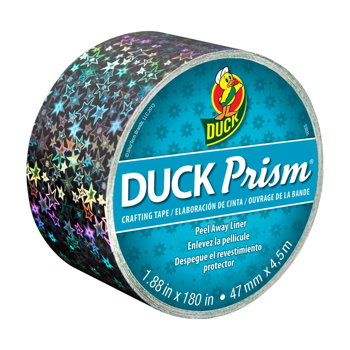 Duck Prism® Crafting Tape - Stars, 1.88 in. x 5 yd. Image