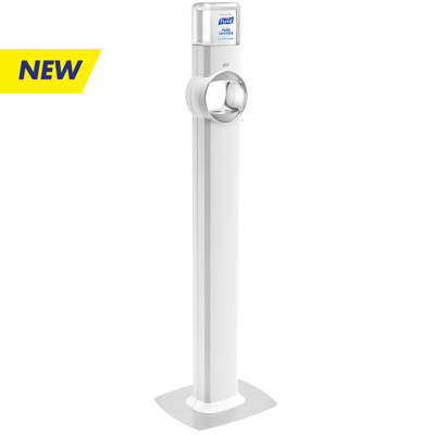 PURELL® FS8 Floor Stand Dispenser - Energy-on-the-Refill and SMARTLINK™ Capability - White