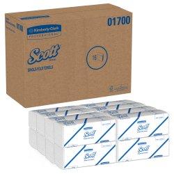 Scott Paper Towel Single-Fold 9-3/10 X 10-1/2 Inch, 01700 - Case of 4000