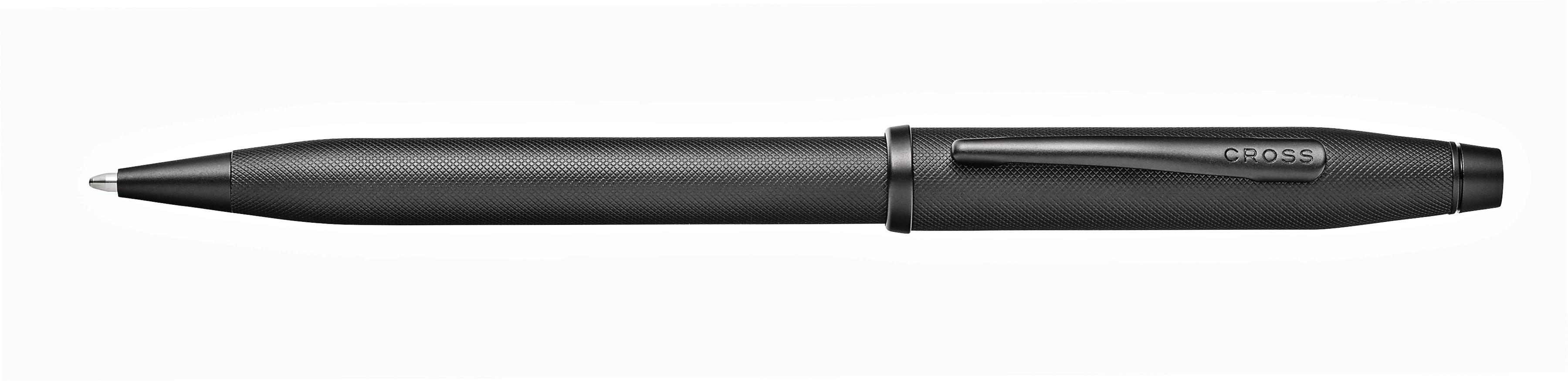 Century II Black Micro-knurl Ballpoint Pen