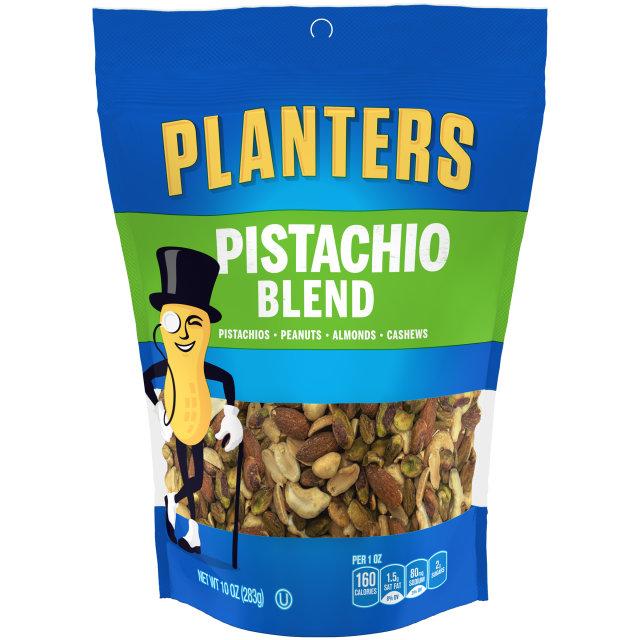 PLANTERS Pistachio Blend 10 oz Bag