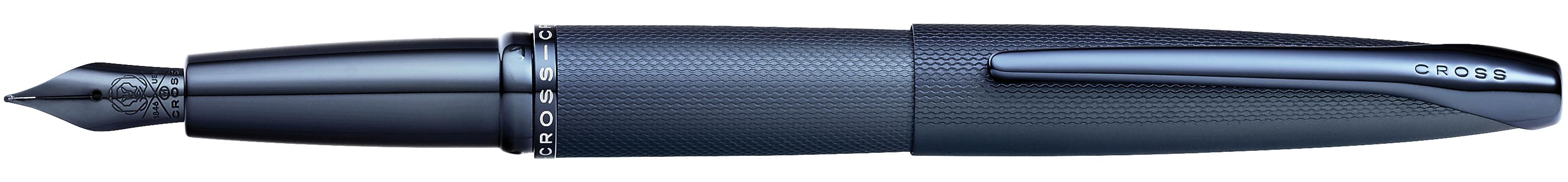 ATX Sandblasted Dark Blue Fountain Pen