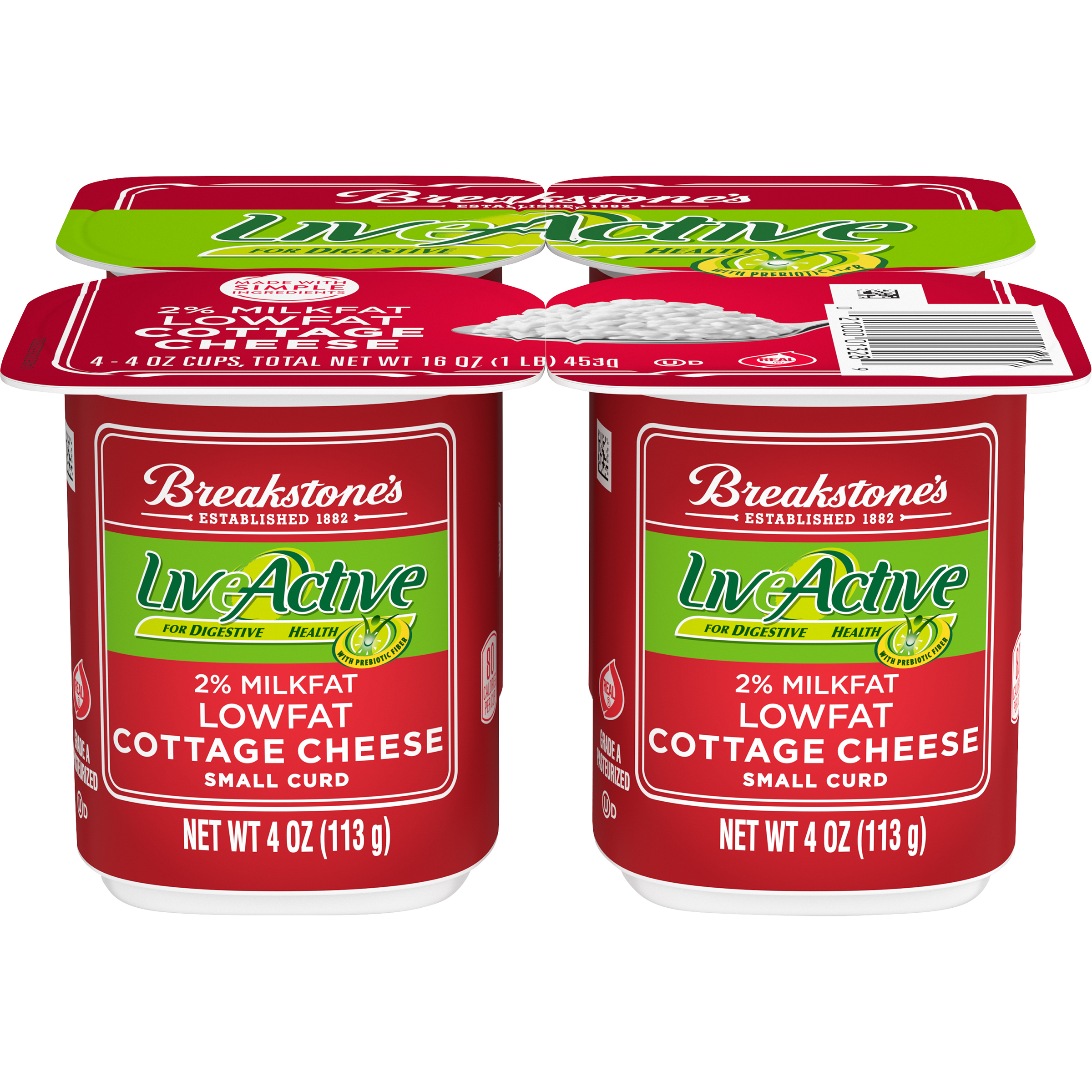 Cottage Cheese Snack Pack - LiveActive