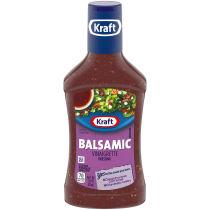 Kraft Balsamic Vinaigrette Dressing 16 fl oz Bottle
