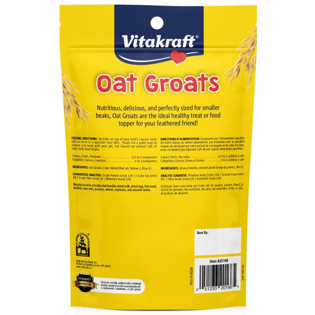 Back-Image showing Oat Groats
