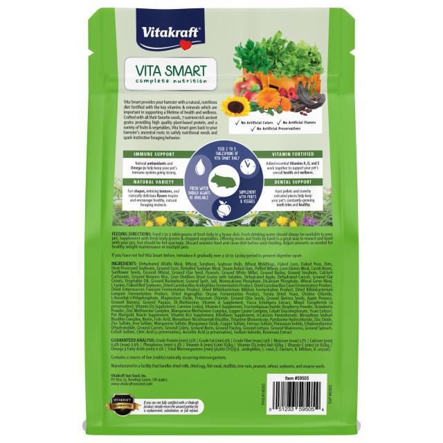Back-Image showing Vita Smart Hamster