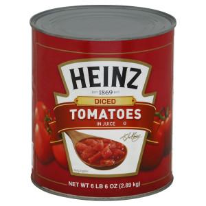 Heinz Diced Tomatoes Tin, 6 lb. image