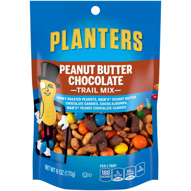 PLANTERS Trail Mix Peanut Butter Chocolate 6 oz Bag image