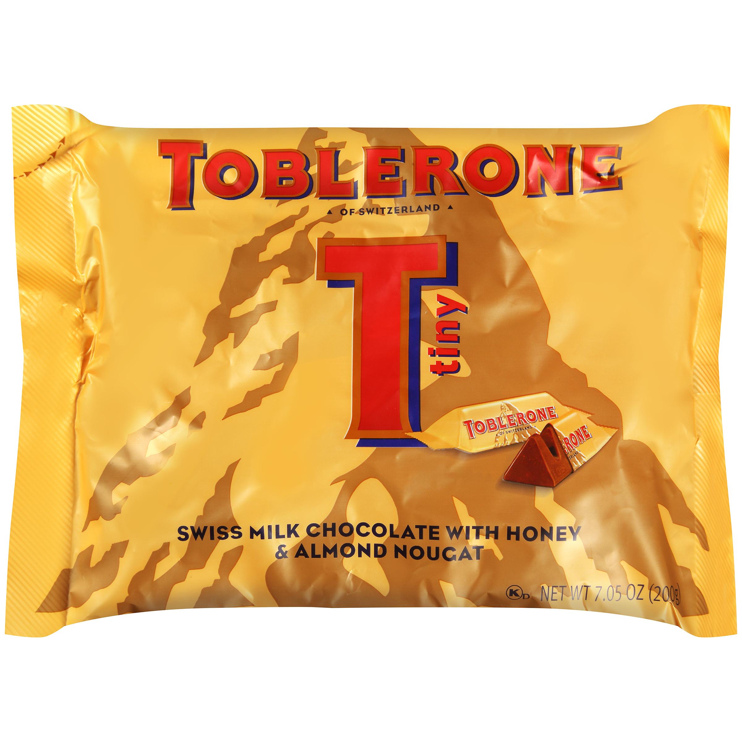 TOBLERONE Mini Milk Chocolate Chocolate Bar-Minis 7.05 oz