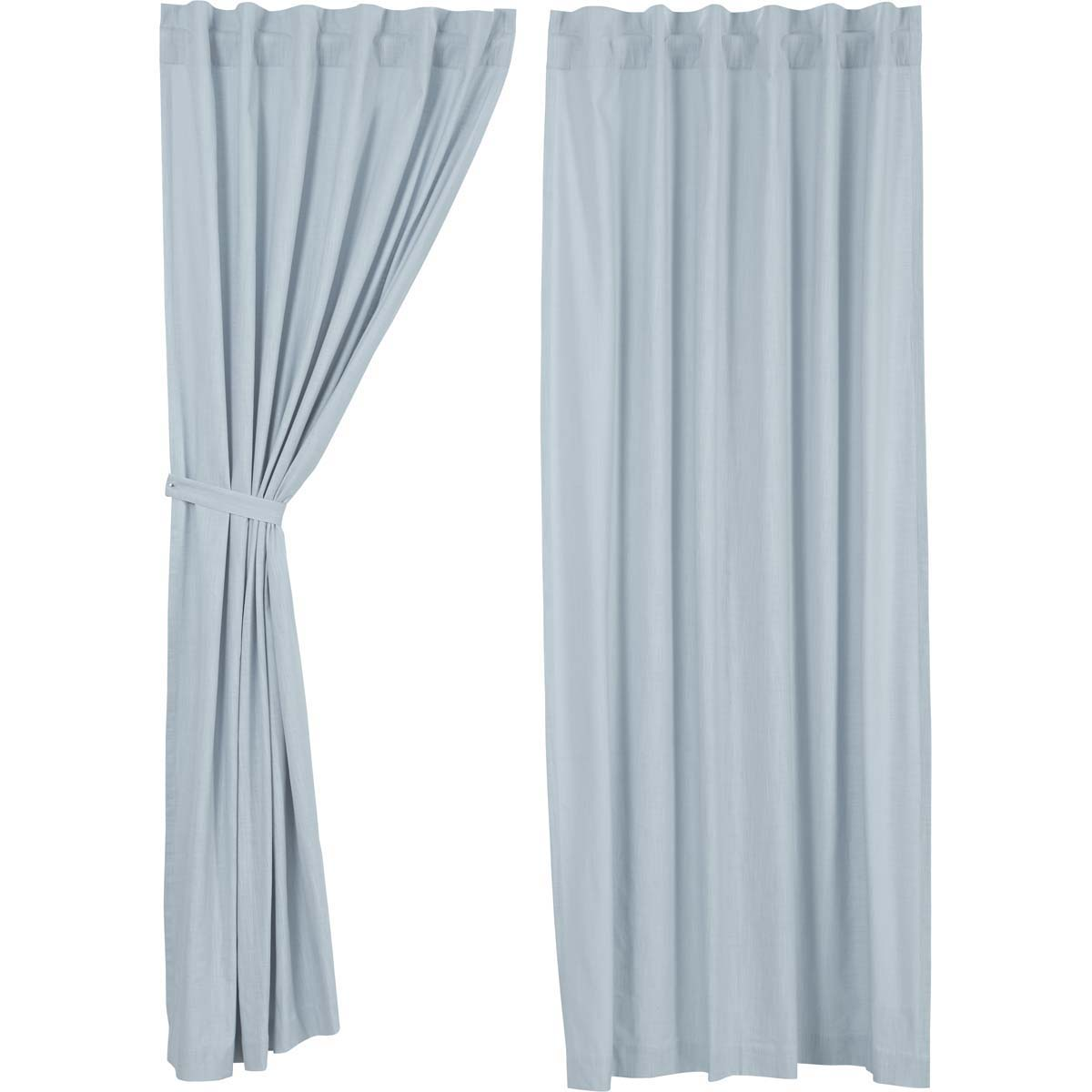 Regina Light Blue Panel Set of 2 96x55