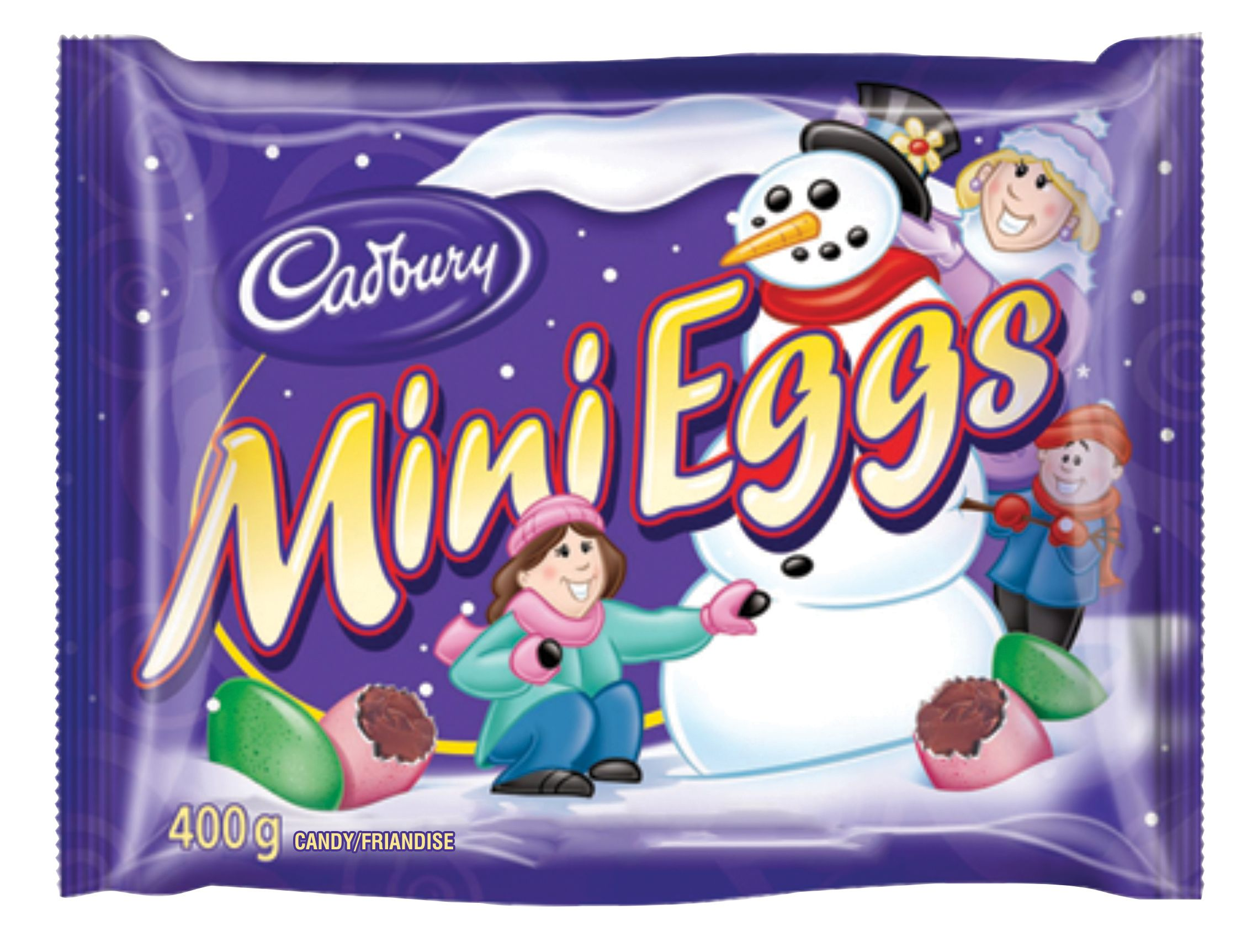 Mini Eggs Assorted Chocolate 400 G