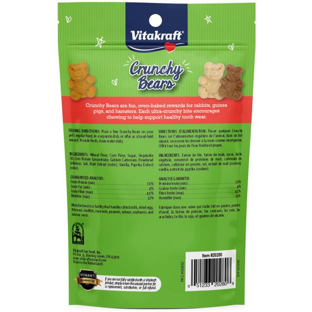 Back-Image showing Crunchy Bears