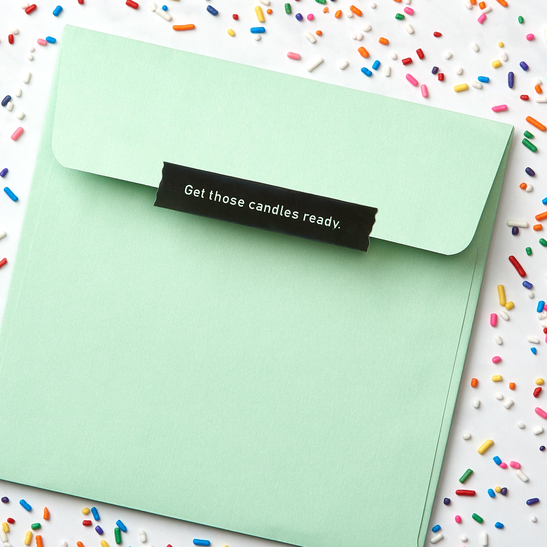 Cupcake Birthday Greeting Card image